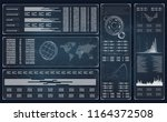 future technology display... | Shutterstock .eps vector #1164372508