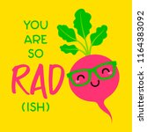 you are so rad ish  ... | Shutterstock .eps vector #1164383092