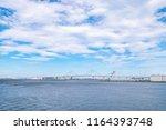 view of yokohama bay area in...   Shutterstock . vector #1164393748
