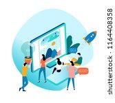 design studio  designing ...   Shutterstock .eps vector #1164408358
