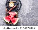 east shisha hookah with aroma... | Shutterstock . vector #1164422845