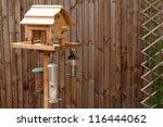 Bird Feeding Table With Nuts...