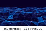 abstract technology background. ...   Shutterstock . vector #1164445702