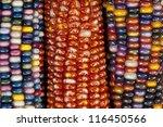 Close Up Of Colorful Ornamenta...