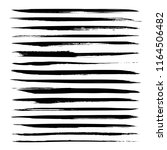 abstract long black textured... | Shutterstock .eps vector #1164506482