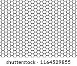hexagonal cell texture. honey... | Shutterstock .eps vector #1164529855