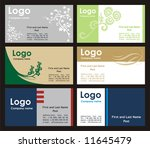 Collection Business Cards...