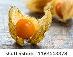 physalis fruit  physalis...   Shutterstock . vector #1164553378