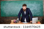 teacher interesting... | Shutterstock . vector #1164570625