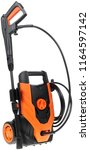 pressure washer on white... | Shutterstock . vector #1164597142