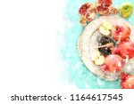 watercolor style and abstract... | Shutterstock . vector #1164617545