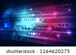 abstract digital speed... | Shutterstock .eps vector #1164620275