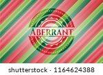 aberrant christmas colors style ... | Shutterstock .eps vector #1164624388