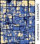 abstract grunge vector... | Shutterstock .eps vector #1164662692