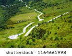 south of france  panorama view...   Shutterstock . vector #1164665998