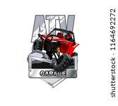 off road atv buggy logo ...   Shutterstock .eps vector #1164692272