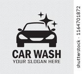 car wash service icon isolated... | Shutterstock .eps vector #1164701872