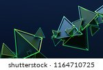 abstract 3d rendering of... | Shutterstock . vector #1164710725