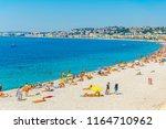 nice  france  june 11  2017 ... | Shutterstock . vector #1164710962