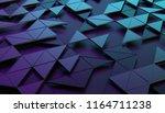 abstract 3d rendering of... | Shutterstock . vector #1164711238