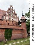 malbork teutonic castle in... | Shutterstock . vector #1164740638