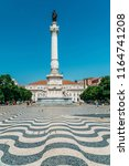 lisbon  portugal   august 20 ... | Shutterstock . vector #1164741208