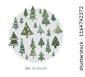 winter holidays banner design ... | Shutterstock .eps vector #1164742372