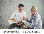 professional psychologist... | Shutterstock . vector #1164752818