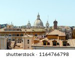 aerial view of rome  italy ... | Shutterstock . vector #1164766798