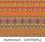 peruvian american indian... | Shutterstock .eps vector #1164766912