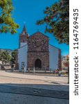 funchal madeira island portugal ... | Shutterstock . vector #1164769435