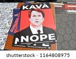 Anti Kavanaugh Sign Protesting...