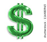 U.s. Dollar Sign With...