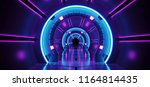 sci fi futuristic abstract... | Shutterstock . vector #1164814435