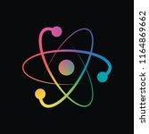scientific atom symbol  logo ...   Shutterstock .eps vector #1164869662