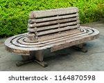 beautiful decorative brown...   Shutterstock . vector #1164870598