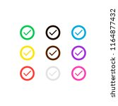 check mark collection icons....