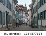 a view of a street in basel... | Shutterstock . vector #1164877915