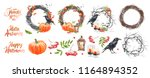 a large set for creating... | Shutterstock . vector #1164894352