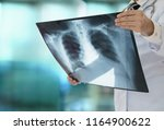 lung radiography concept.... | Shutterstock . vector #1164900622