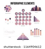 infographic elements  business... | Shutterstock .eps vector #1164904612
