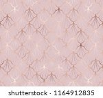 art deco seamless pattern with... | Shutterstock .eps vector #1164912835