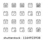 set of time relation vector... | Shutterstock .eps vector #1164923938