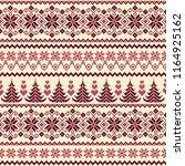 nordic pattern illustration. | Shutterstock .eps vector #1164925162