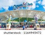 hong kong  china   july 24 ... | Shutterstock . vector #1164945472