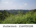 summer mountain view  | Shutterstock . vector #1164950188