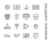 set of minimalist black lined... | Shutterstock . vector #1164957142