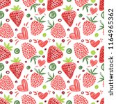seamless bright pattern with... | Shutterstock .eps vector #1164965362