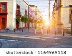 guadalajara streets in historic ...   Shutterstock . vector #1164969118