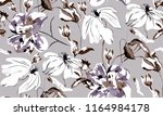 Geometric Floral Pattern On...
